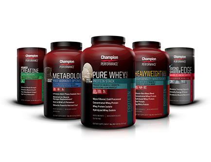 Champion Performance - Protein & Meal Replacements