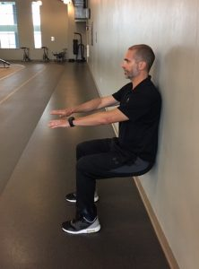 Champion Performance - Wall Sits -Step 2