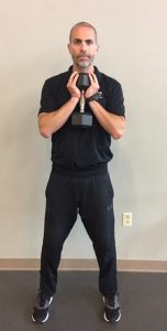 Champion Performance - Goblet Squat - Step 1