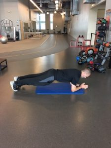 Exercises for a Stronger Core - Traditional Plank