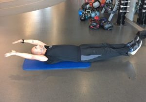 Exercises for a Stronger Core - V-Ups Step 1