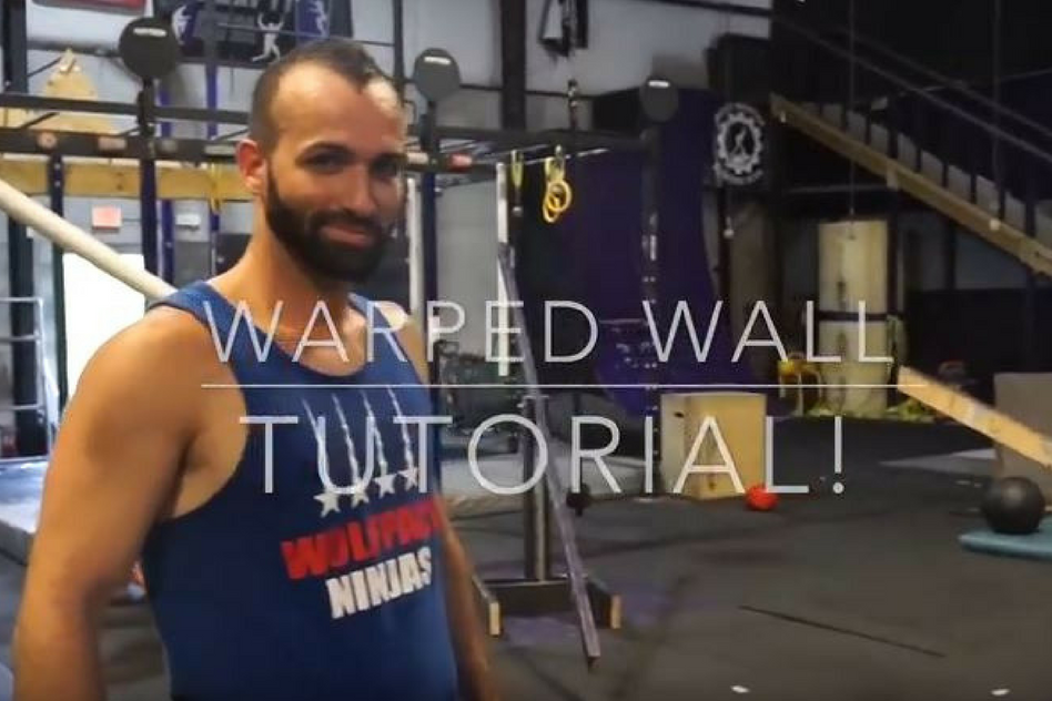 How To Conquer The Warped Wall - TUTORIAL (Ninja Warrior)